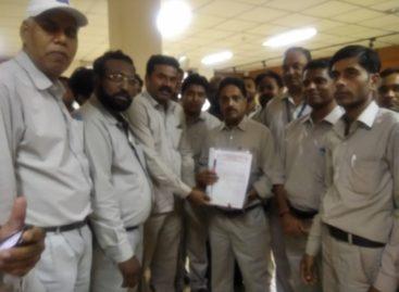ऑल इंडिया भेल एम्प्लाईज यूनियन ने भेल के कार्यपालक निदेशक को सौपा हस्ताक्षरयुक्त ज्ञापन