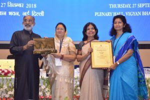 MP tourism award delhi