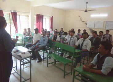 एनएचआरओ की भोपाल टीम ने किया सेंट जॉर्ज स्कूल में चुनाव जागरूकता कार्यक्रम